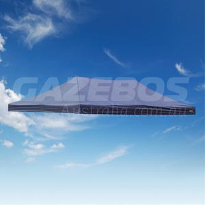 6m x 3m Replacement Canopy for OZtrail Deluxe 6.0 Gazebo Blue Pavilion