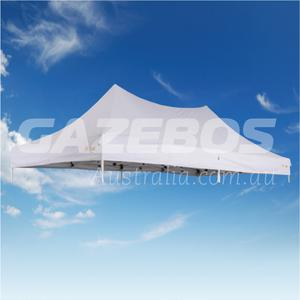 6m x 3m Replacement Canopy for OZtrail Commercial Deluxe 6.0 Gazebo White