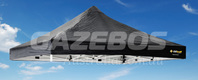 OZtrail Deluxe Gazebo Replacement Canopy - Black