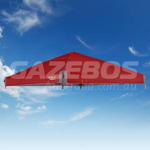 2.4m X 2.4m Replacement Canopy for OZtrail Fiesta Compact Gazebo Red
