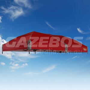 4.8m X 2.4m Replacement Canopy for OZtrail Fiesta Compact Gazebo Red