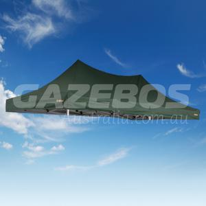 6m x 3m Replacement Canopy for OZtrail Deluxe 6.0 Gazebo Green Pavilion