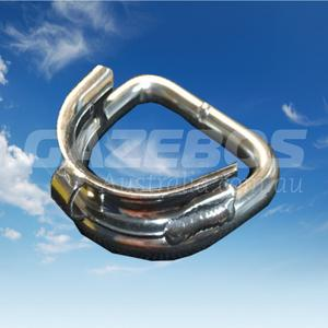 D-Ring Thimble Welded Stainless Steel