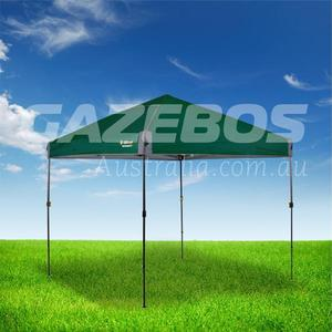OZtrail Compact 2.4 Gazebo with Green Canopy 2.4m x 2.4m