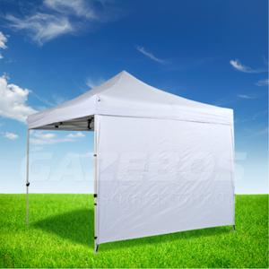 3m OZtrail Gazebo Heavy Duty Side Wall White