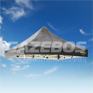 3m x 3m Replacement Canopy for OZtrail Deluxe 3.0 Gazebo Black