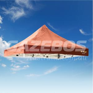 3m x 3m Replacement Canopy for OZtrail Deluxe 3.0 Gazebo Red