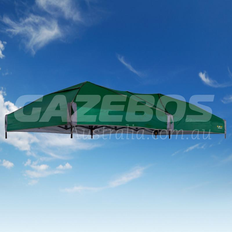 4.8m X 2.4m Replacement Canopy for OZtrail Fiesta Compact Gazebo Green
