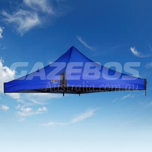 3m X 3m Replacement Canopy for OZtrail Fiesta Deluxe Gazebo Blue