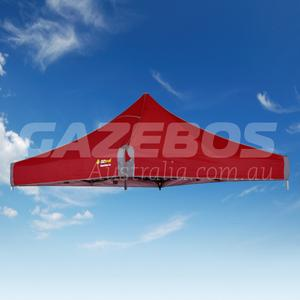 3m X 3m Replacement Canopy for OZtrail Fiesta Deluxe Gazebo Red