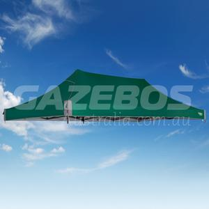 6m x 3m Replacement Canopy for OZtrail Fiesta Deluxe 6.0 Gazebo Green