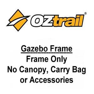 OZtrail Compact Deluxe 2.4m x 2.4m Gazebo Frame