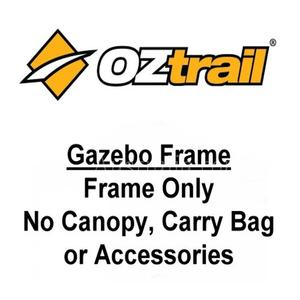 OZtrail Deluxe Pavilion 6m x 3m Gazebo Frame