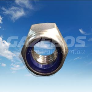 Nylon Lock Nut Stainless Steel