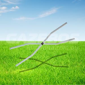 OZtrail Standard Corner Curved Scissor Action Strut 1010mm Long