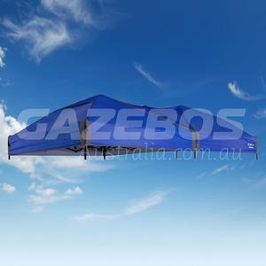 4.8m X 2.4m Replacement Canopy for OZtrail Fiesta Compact Gazebo Blue