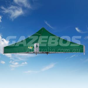 2.4m X 2.4m Replacement Canopy for OZtrail Fiesta Deluxe Gazebo Green
