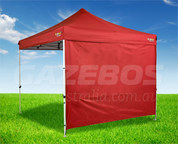 OZtrail Heavy Duty Red Gazebo Wall 3m