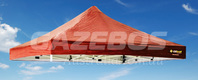 OZtrail Deluxe Gazebo Replacement Canopy - Red