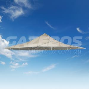 6m x 6m Replacement Canopy for OZtrail Shade Max 6.0 Gazebo Natural
