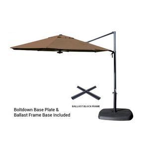 Shelta Pandanus Octagonal 3.3m Cantilever Umbrella