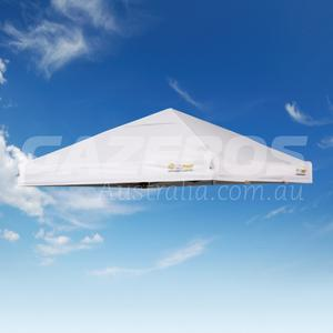 2.4m X 2.4m Replacement Canopy for OZtrail Commercial Compact Gazebo White