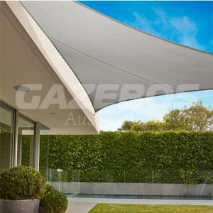 Coolaroo 95% UV Commercial Shade Sail Triangle 6.5m x 6.5m x 6.5m Shadecloth