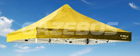 OZtrail Deluxe Gazebo Replacement Canopy - Yellow