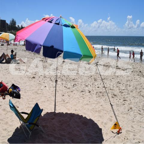 Brella Brace Beach Umbrella Securing System
