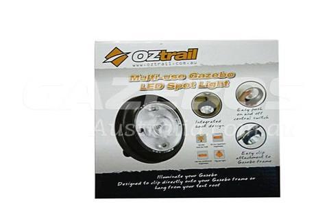 OZtrail Multi Use Gazebo Spot Light (Set 4)