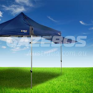 OZtrail Removable Awning Kit Blue 3m to suit Deluxe Gazebo
