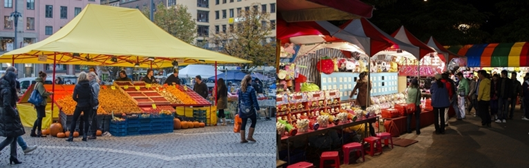LOOKS OF DAY AND NIGHT MARKET STALL