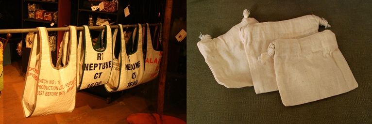 FREE ECO BAGS TO CUSTOMERS