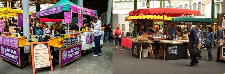 CHOOSE THE BEST MARKET STALL LOCATION