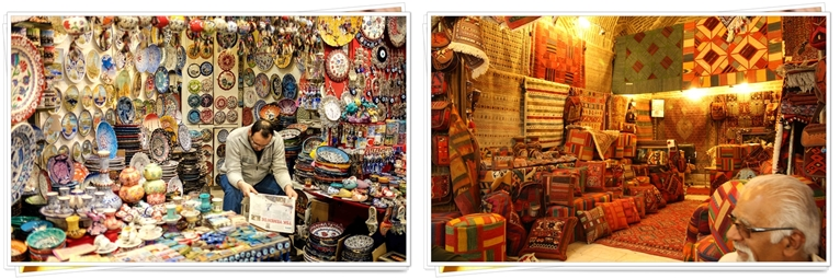 MARKET STALLS THAT SELL AUTHENTIC ITEMS