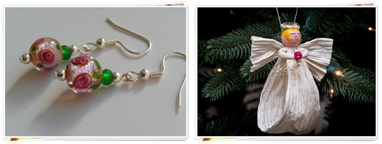 ADORABLE ANGEL AND JEWELRY ORNAMENTS